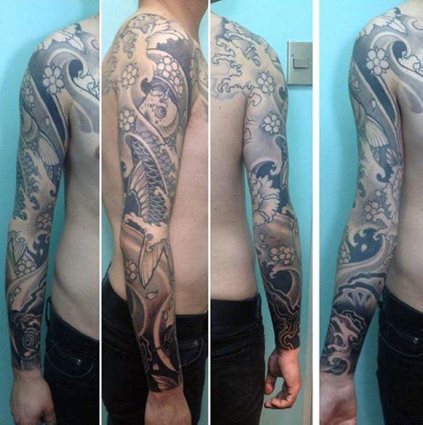125 Koi Fish Tattoos with Meaning, Ranked by Popularity 42