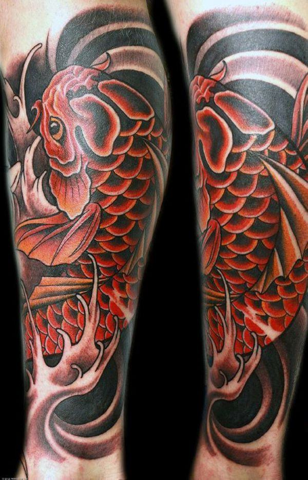 125 Koi Fish Tattoos with Meaning, Ranked by Popularity 71