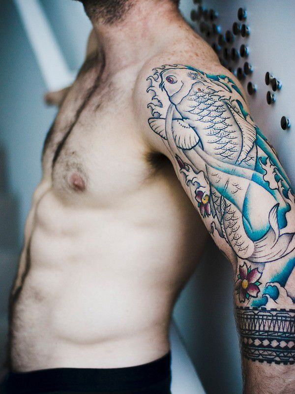 125 Koi Fish Tattoos with Meaning, Ranked by Popularity 6