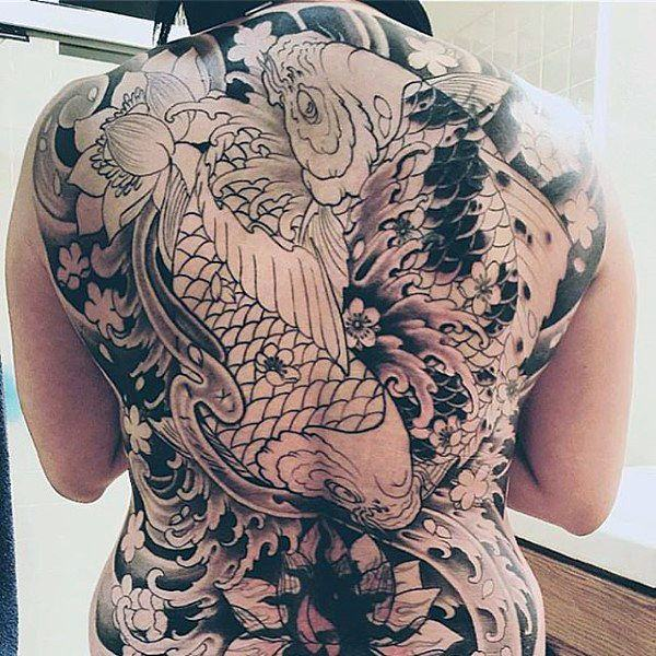 Tattoo Ideas Koi: 125 Koi Fish Tattoos With Meaning, Ranked By Popularity