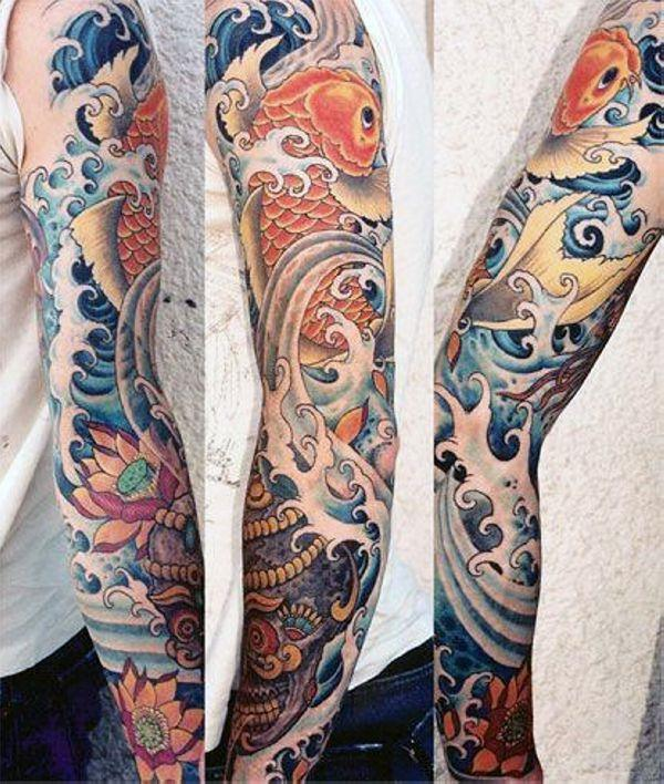 125 Koi Fish Tattoos with Meaning, Ranked by Popularity 81