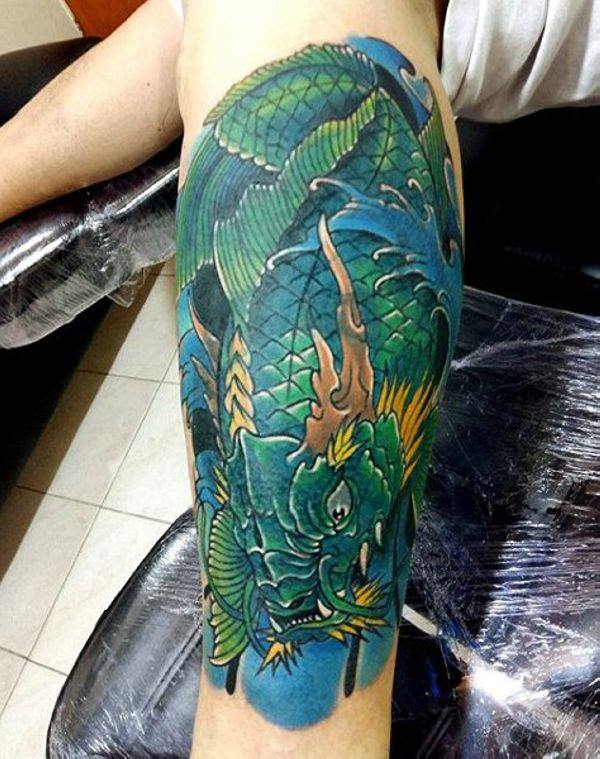 125 Koi Fish Tattoos with Meaning, Ranked by Popularity 97