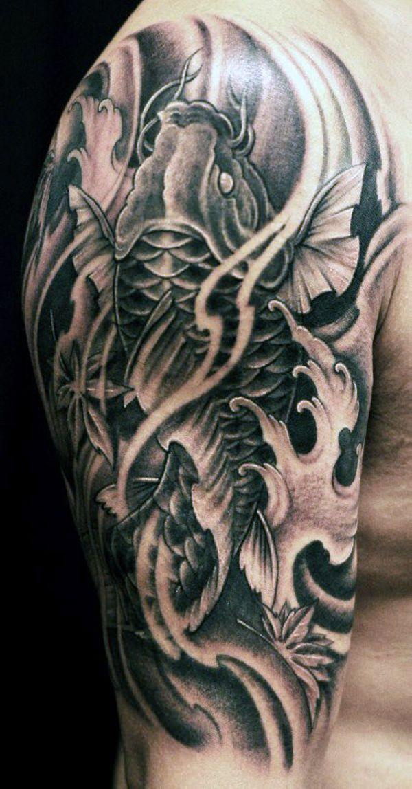 125 Koi Fish Tattoos with Meaning, Ranked by Popularity 104
