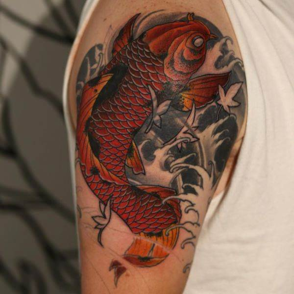 125 Koi Fish Tattoos with Meaning, Ranked by Popularity 117