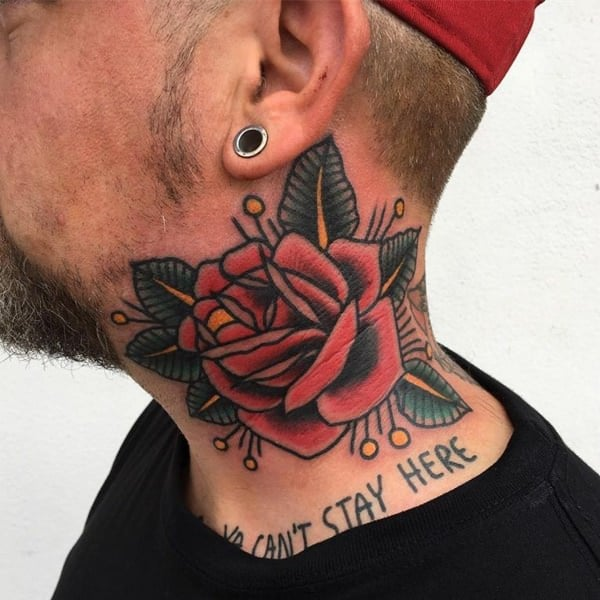 Tattoo Designs Neck: 125 Top Neck Tattoo Designs This Year