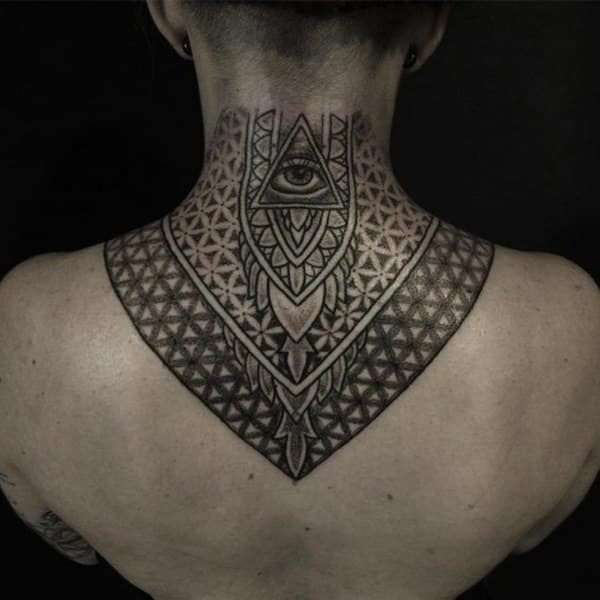 Tattoo For Womens Neck: 125 Top Neck Tattoo Designs This Year