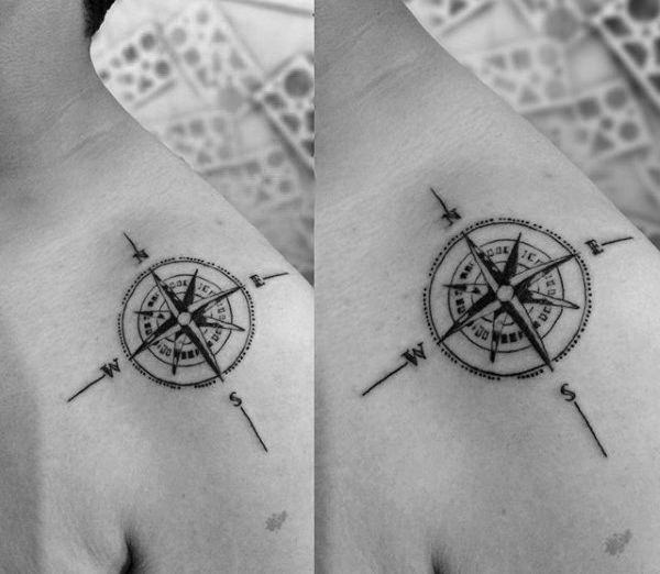 155 Cool Star Tattoos for Men & Women 96