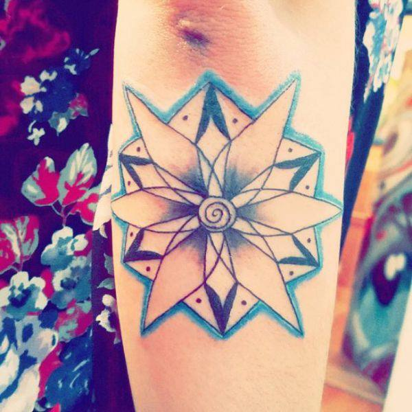 155 Cool Star Tattoos for Men & Women 20