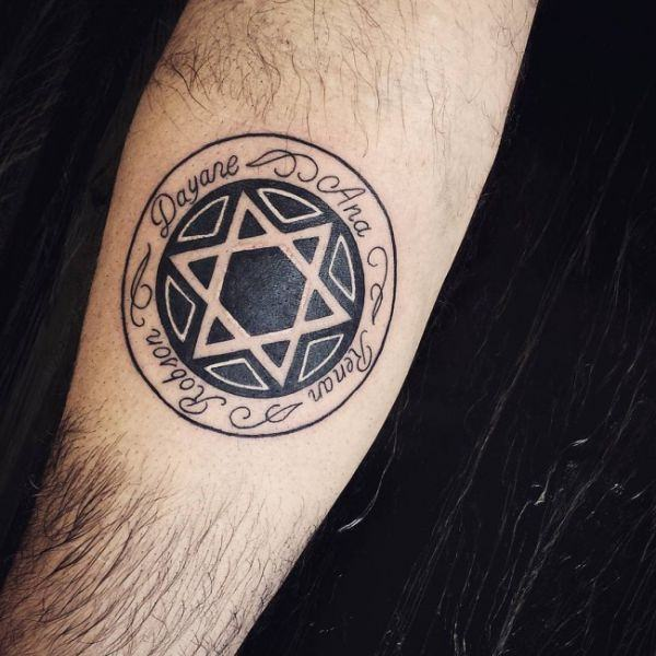 155 Cool Star Tattoos for Men & Women 3