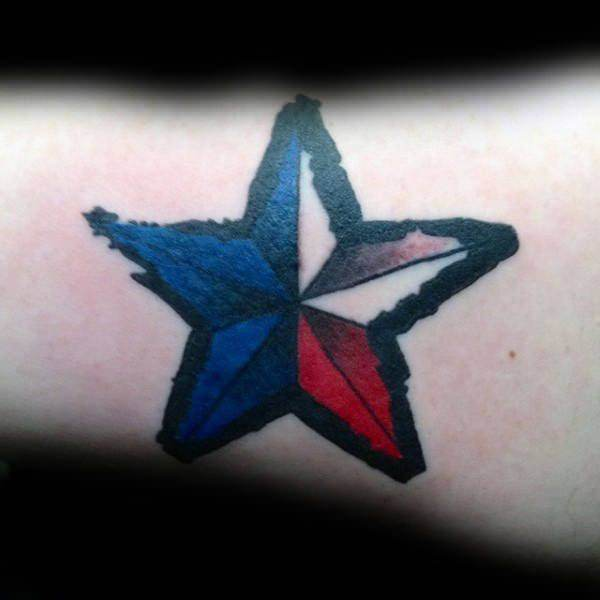 155 Cool Star Tattoos for Men & Women 56