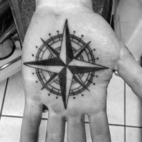 155 Cool Star Tattoos for Men & Women 60