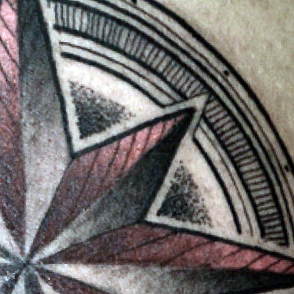 155 Cool Star Tattoos for Men & Women 89