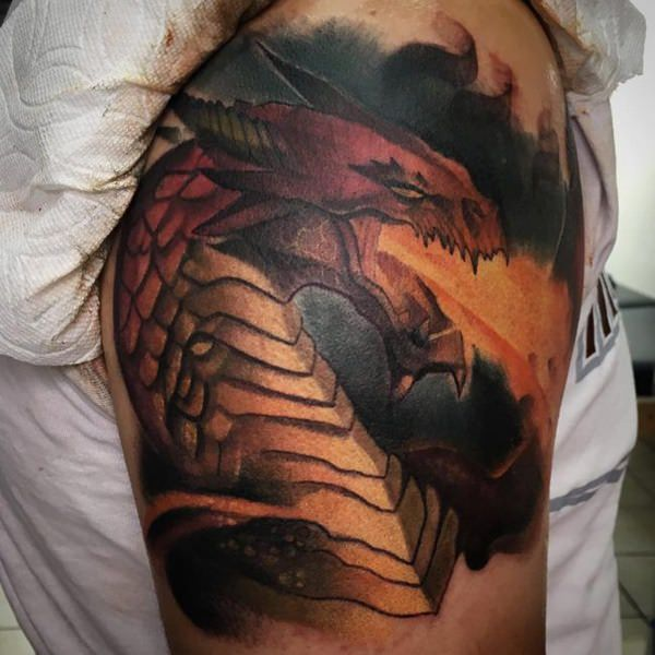 160 Kick-Ass Dragon Tattoo Designs To Choose From (with