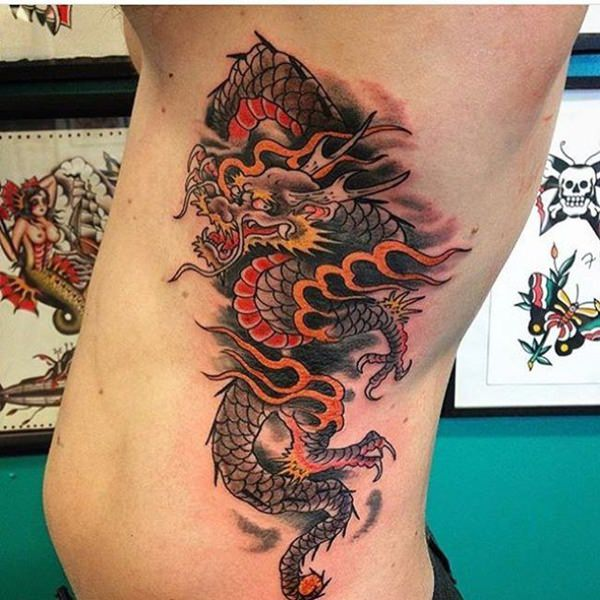 160 Kick Ass Dragon Tattoo Designs To Choose From With Meanings