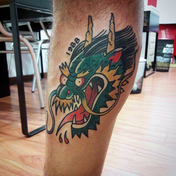Dragon Tattoo Cartoon Best Tattoo Ideas