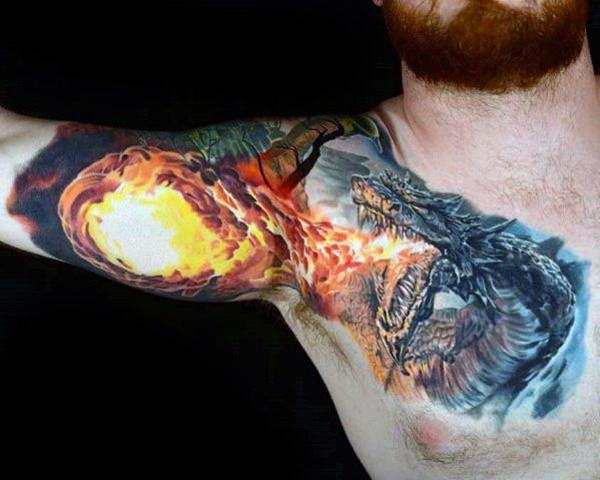 160 Kick Ass Dragon Tattoo Designs To Choose From With Meanings Wild Tattoo Art