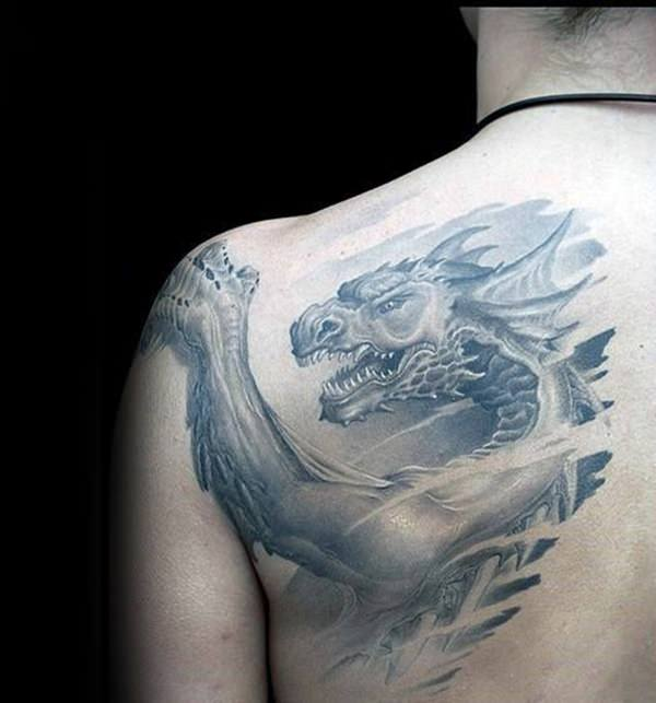 5cf73cddf 160 Kick-Ass Dragon Tattoo Designs to Choose From (with Meanings ...