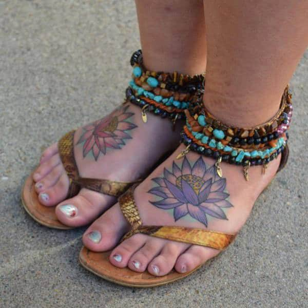 100 Gorgeous Foot Tattoo Design You Must See: 125 Most Popular Foot Tattoos For Women