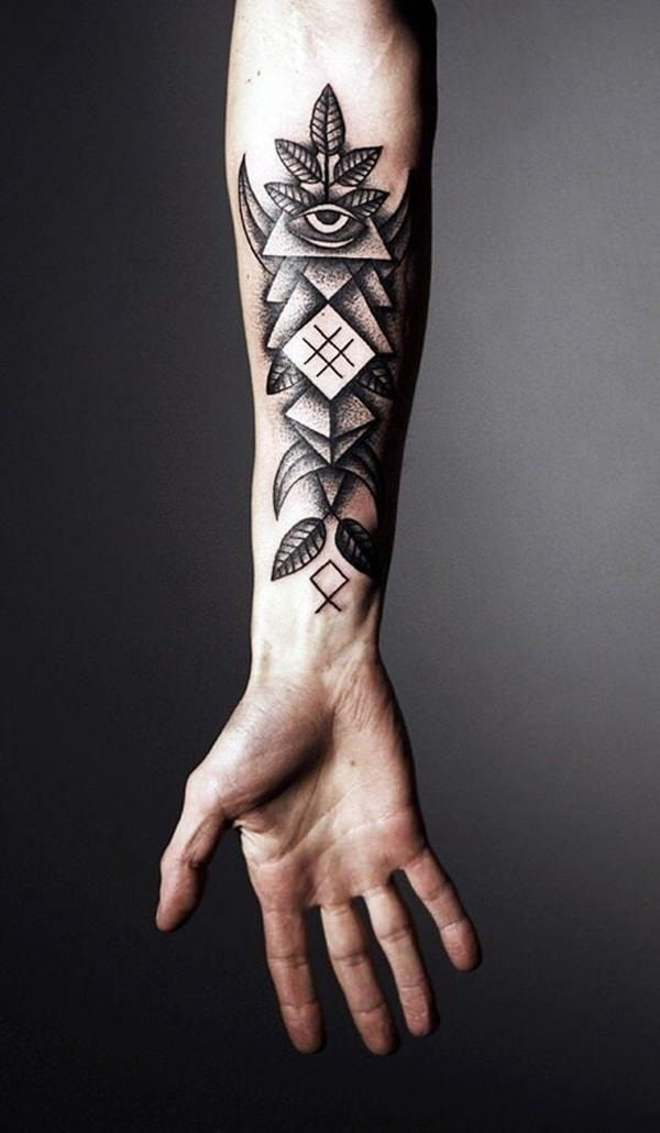 5a9a85337 125 Top Rated Geometric Tattoo Designs This Year - Wild Tattoo Art