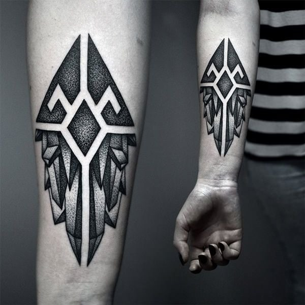 Small Art Tattoo Designs: 125 Top Rated Geometric Tattoo Designs This Year