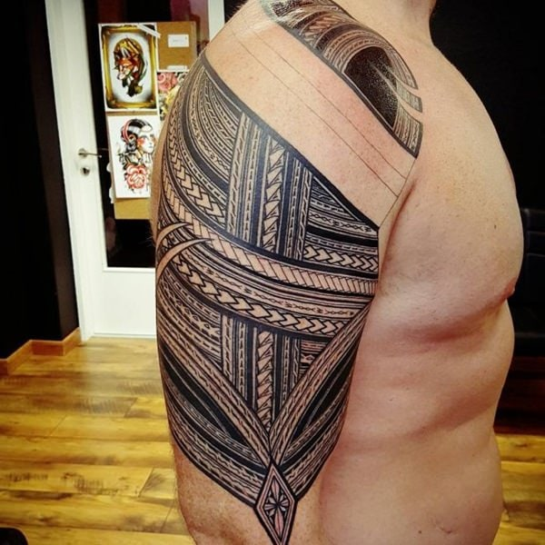 125 top rated polynesian tattoo designs this year wild for Best polynesian tattoo artist