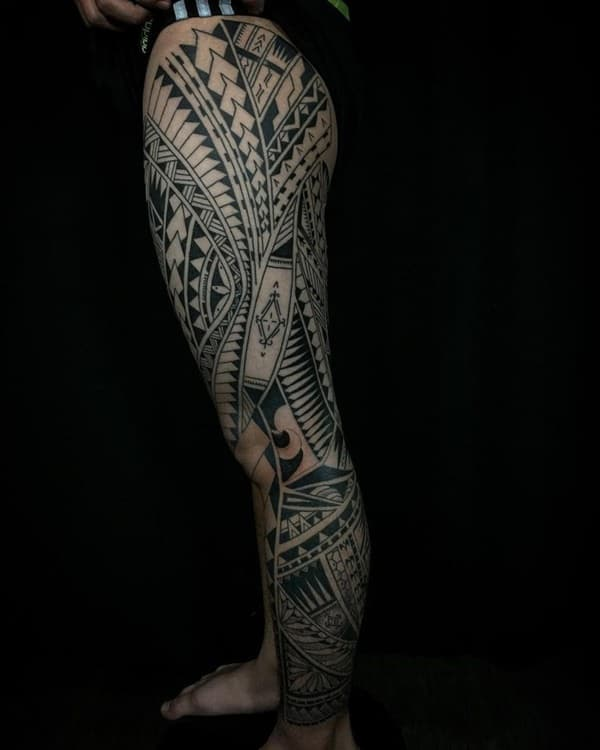 125 Top Rated Polynesian Tattoo Designs This Year 130