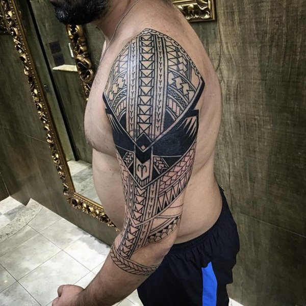 125 Top Rated Polynesian Tattoo Designs This Year 133