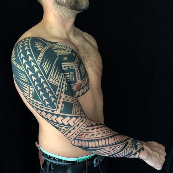 125 Top Rated Polynesian Tattoo Designs This Year 137