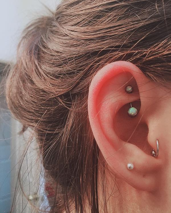 Rook Piercing Pain Price Aftercare Tips With 55 Examples