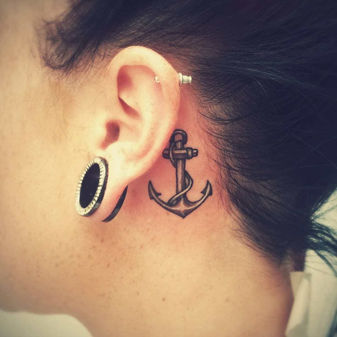 20+ Best Places to Get a Tattoo and Their Meanings - Wild ... Jesus Fish Tattoo Behind Ear