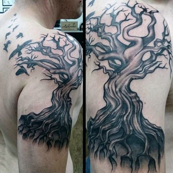 125 Awesome Crow/Raven Tattoo Ideas and their Meanings - Wild Tattoo Art