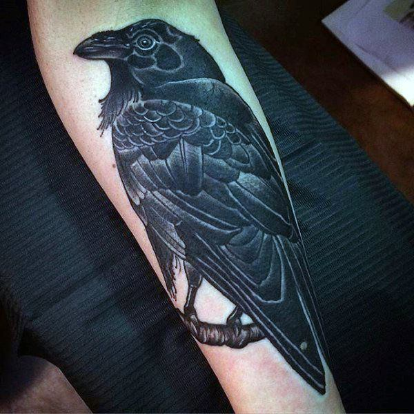 125 Awesome Crow Raven Tattoo Ideas And Their Meanings Wild Tattoo Art