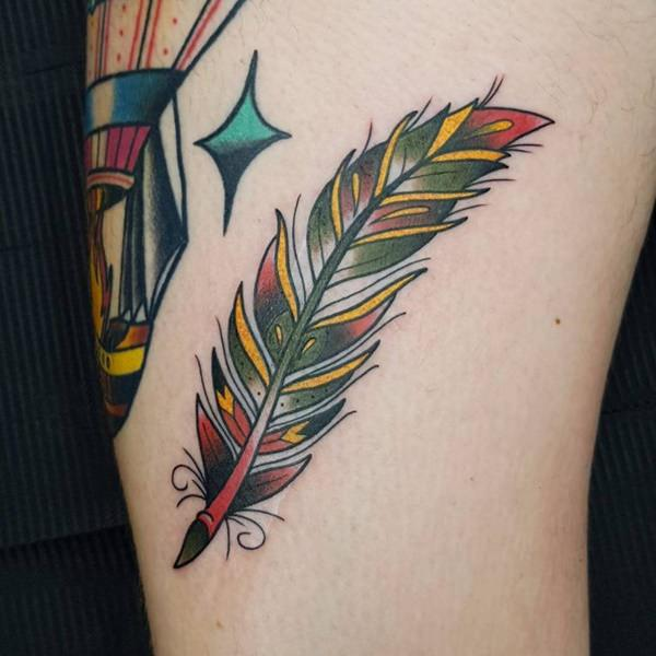 125 Stunning Feather Tattoos to Choose From - Wild Tattoo Art Crow Drawing Tattoo