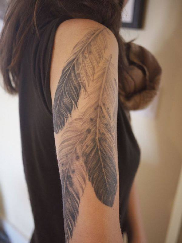 125 Stunning Feather Tattoos To Choose From Wild Tattoo Art