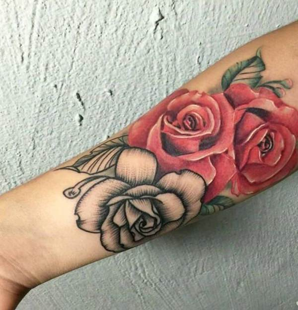 155 Rose Tattoos: Everything You Should Know (with Meanings) 113