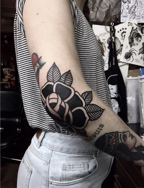 155 Rose Tattoos: Everything You Should Know (with Meanings) 122
