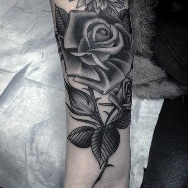 155 Rose Tattoos: Everything You Should Know (with Meanings) 37
