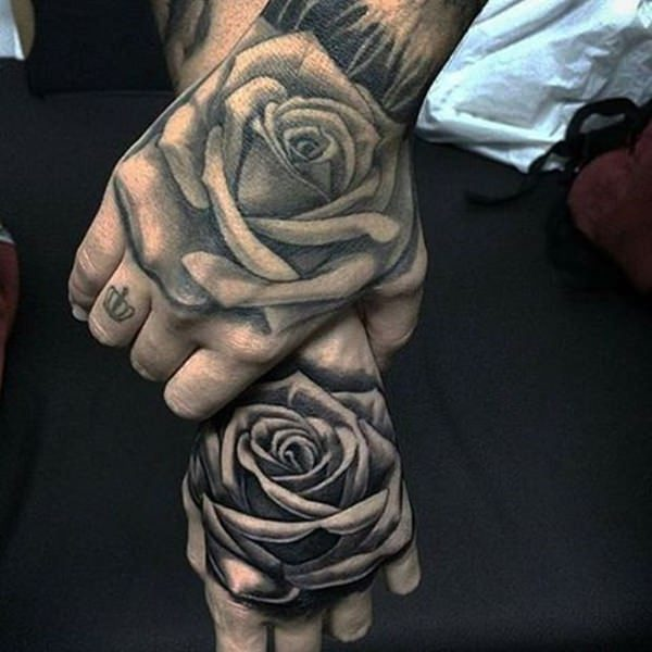 11d1aed27 155 Rose Tattoos: Everything You Should Know (with Meanings) - Wild ...