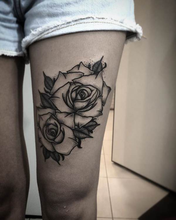 155 Rose Tattoos: Everything You Should Know (with Meanings) 67