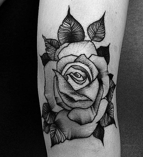 155 rose tattoos everything you should know with meanings wild tattoo art. Black Bedroom Furniture Sets. Home Design Ideas