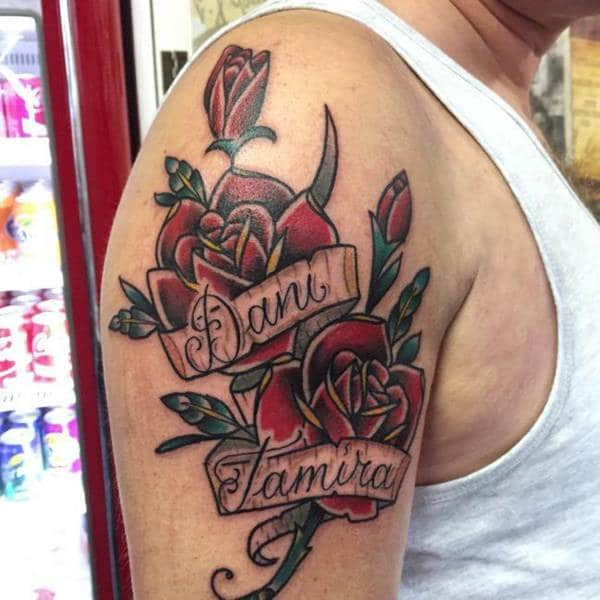 155 Rose Tattoos: Everything You Should Know (with Meanings) 23