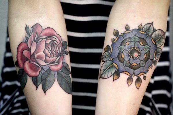 155 Rose Tattoos: Everything You Should Know (with Meanings) 26