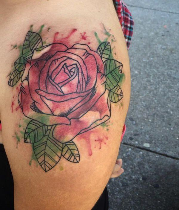 155 Rose Tattoos: Everything You Should Know (with Meanings) 56