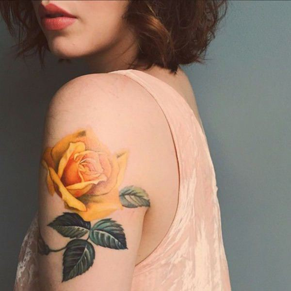 155 Rose Tattoos: Everything You Should Know (with Meanings) 79