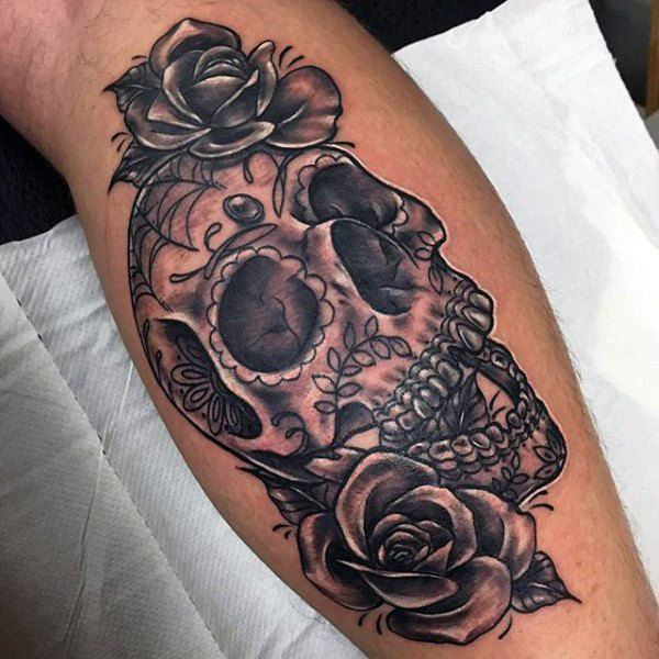155 Sugar Skull Tattoo Designs With Meaning Wild Tattoo Art