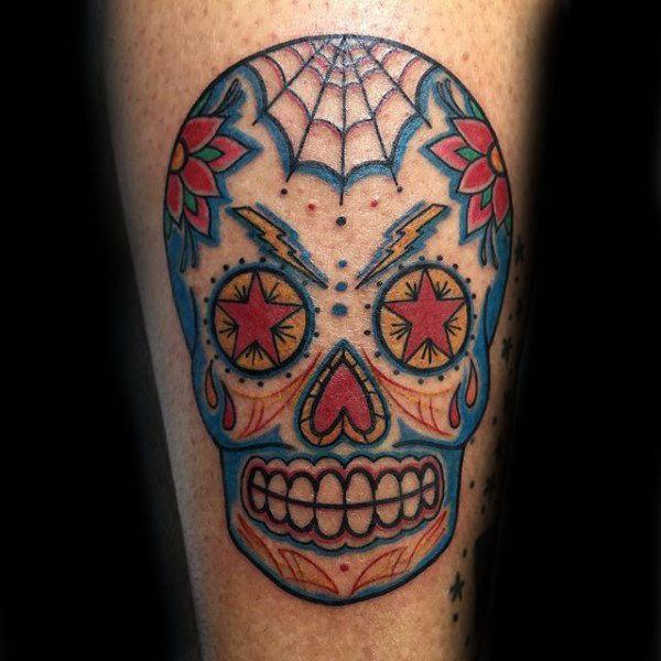 f984e0bdce54c So many people who love sugar skull tattoo designs use this as a way to  commemorate their departed friends and family.