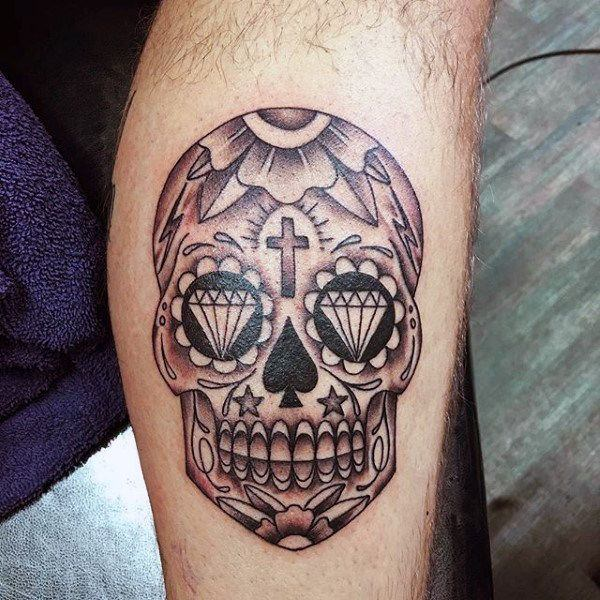 Mexican Tattoos Designs Ideas And Meaning: 155 Sugar Skull Tattoo Designs With Meaning