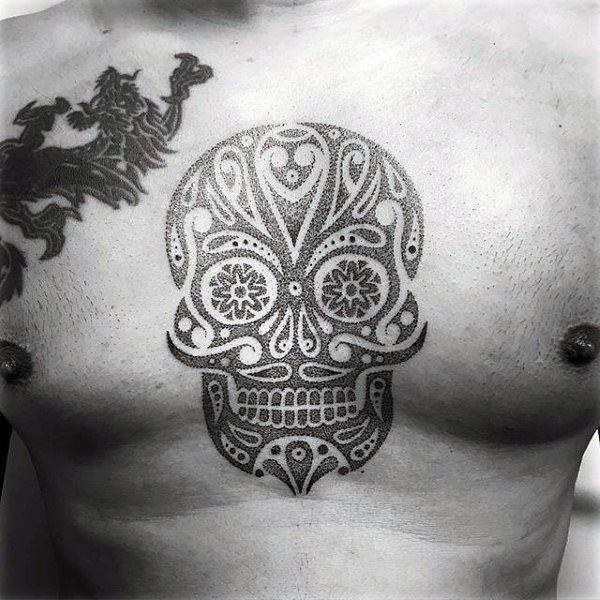 155 sugar skull tattoo designs with meaning wild tattoo art. Black Bedroom Furniture Sets. Home Design Ideas