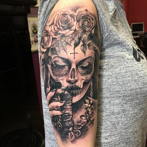 155 Day Of The Dead Tattoo Ideas And Everything You Need To Know
