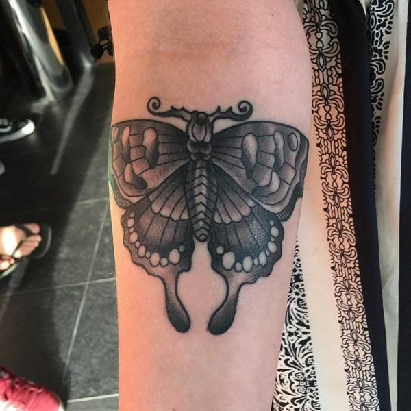 dd6316b561a1a 125+ Butterfly Tattoo Ideas for Depicting Transformation - Wild ...